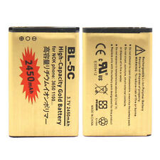 2450mAh Replacement Li-ion Phone Battery For Nokia BL-5C 6630 6680 6550 6230i