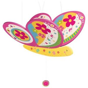 Vibrating Animal Wooden Swing Figure Butterfly Susibelle Goki 52905 Spannw.