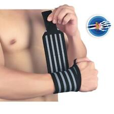 2x Weight Lifting Wrist Wraps Bandage Hand Support Straps Sports Grip Brace
