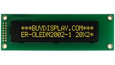 Yellow I2C IIC 20x2 2002 OLED Serial Character Display Module Screen for Arduino