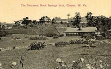 Chester,West Virginia,The Entrance to Rock Springs Park,c.1909