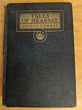 Tales of Hearsay by Joseph Conrad (hardcover 1925)