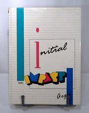 LINCOLN WAY HIGH SCHOOL 1990 YEAR BOOK NEW LENOX ~ FRANKFORT ILLINOIS HTF!
