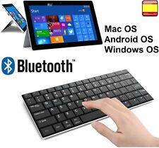 TECLADO INALAMBRICO BLUETOOTH PC MAC OS ANDROID OS WINDOWS IPAD SAMSUNG LETRA Ñ