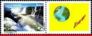 3133 BRAZIL 2010 FOX DO IGUACU, WATERFALLS, CITIES, NATURE, RHM C-2996, MNH