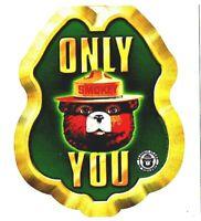 "⫸ 943 Postcard Smokey Bear ""Careless People"" US Forest Service New"