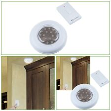Indoor Cordless Flush Ceiling Wall Light Remote Control Switch Battery Operated