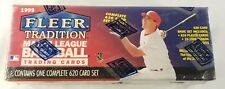 1999 BASEBALL FLEER TRADITION SEALED COMPLETE FACTORY SET 620 CARD BOX
