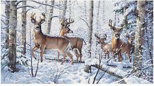 Dimensions Needlecrafts 35130 Woodland Winter Counted Cross Stitch Kit