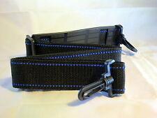 """Neck Shoulder Strap Black/Blue 45"""" x 1/2"""" for Camera Case 6105004"""