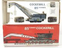 JOUEF M 663 - FRENCH SNCF 85T Cockerill Breakdown Crane Set - WAGON GRUE