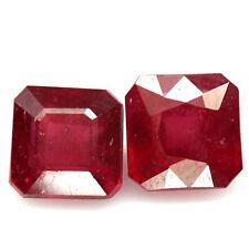 Slight Translucent Loose Rubies