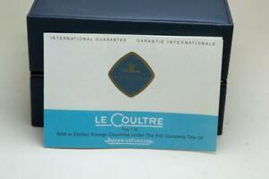 Genuine Blank Vintage Jaeger-LeCoultre International Guarantee USA