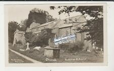 HUNTS MARLBORO PHOTO POSTCARD - CHURCH - OGBOURNE ST GEORGE