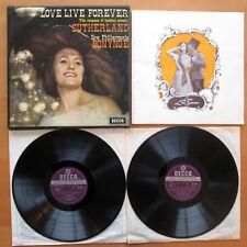 SET 349-50 WBg Love Live Forever Sutherland Bonynge 2xLP Decca ED2 WB VG/VG