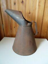 More details for collectors 1 gallon metal measuring jug / paraffin jug