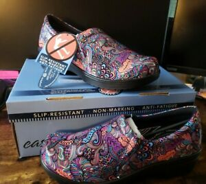 Easy Work by Easy Street Women's Tiffany Slip On Shoes Aztec US Size 9 M NEW