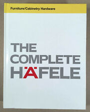 2013 THE COMPLETE HÄFELE Furniture/Cabinetry Hardware Guide Hardcover 600+ Pages