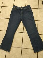 Lee Women's Jeans Size 14 Short Bootcut Relaxed At The Waist 3058588 stretch