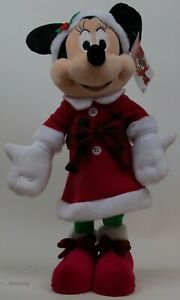 Christmas Holiday Disney 20 in Tall Minnie Mouse Greeter in Red Holiday Dress