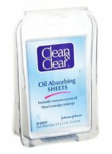 Clean and Clear Oil Absorbing Sheets - 50 Count - Pack of 24