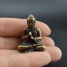 2019 Mini Buddha Kopf Deko Statue Shakyamuni Holz Figur Buddhakopf Zimmer Deko~