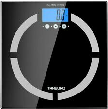 Tanburo Digital Scale High Precision Weighing Body Fat Monitor HighLoad Capacity