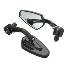 Universal Motorcycle 7/8'' 22mm Aluminum Rear View Side Mirror Handle Bar End