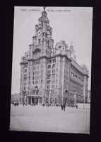 Vintage B/W Postcard - LIVERPOOL Royal Liver Building -unused 47260 Grano Series