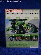 Motorrad Katalog Nr. 34 2003