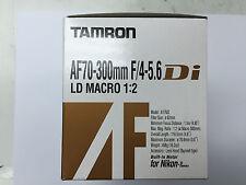 Tamron AF 70-300mm f/4-5.6 Di A17NII Lens Built-In Motor for Nikon FX DX