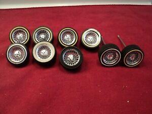 """Jada  1/24 scale """"street low """" wheels & tires sold as-is  #11"""