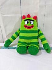 "Ty BROBEE Yo Gabba Gabba Stuffed Animal Plush Beanie Baby 8"" 2012 Ships FREE"