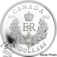 Silver Plated Coin RCM Royal Canadian Mint 2012 50c Queens Diamond Jubilee