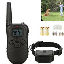 1000 Yard Waterproof 100LV Electric Collar Remote Pet Dog Shock Training Collar