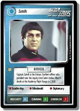 Star Trek CCG Premiere BB Limited Satelk