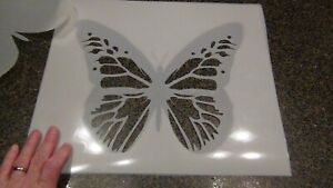 Monarch Butterfly Stencils 2 Layer combo stencil 10 Mil washable mylar 10 x 12