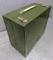Tin Box Container Army USSR Vintage Military