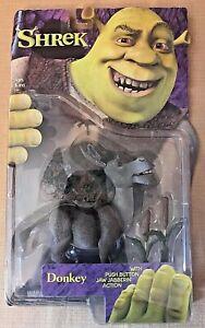 2001 McFarlane Shrek Donkey Action Figure NEW