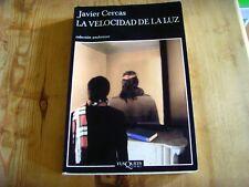 Usado- Libro LA VELOCIDAD DE LA LUZ - Javier Cercas