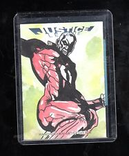 2016 Cryptozoic DC Justice league JEZ sketch card