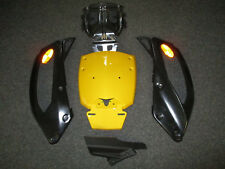 Original Heckkotflügel ohne Kennzeichenhalter für CanAm Spyder ST, Bj. 2013,Gelb