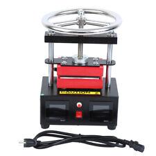 24 X 47 Rosin Mini Heat Press Machine Hand Crank Dual Heated Plates 900w