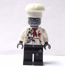 LEGO figurine figure Zombie Monstre Chef Cook Baker Halloween
