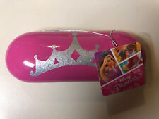 Disney Princess Eyewear Case - Pink with Silver Glitter Crown