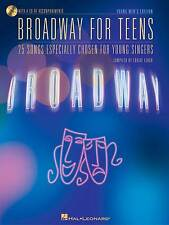Broadway for Teens, Young Men's Edition, Book/Online Audio Pack