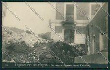 Catania Etna Eruzione Foto cartolina QQ0288