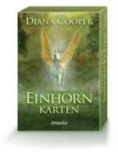 Einhorn-Karten   Diana Cooper   Box   Deutsch   2008