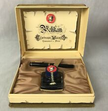 Vintage Pelikan Fountain Pen in Original Box with Blue Ink 14C-585 F Nib