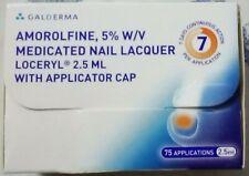 MEDICATED GALDERMA LOCERYL AMOROLFINE 2.5 ML NAIL LACQUER OR NAIL FUNGUS LOTION